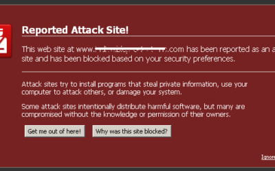 Google Attack Page